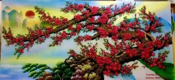 Tranh đá quý Đào Thế Mùa Xuân ĐT02-03