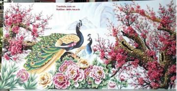 Tranh Đá Quý Hạnh Phúc Mùa Xuân ĐT02-05