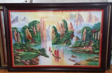 Tranh Đá Quý Thuận Buồm Xuôi Gió ĐT04-03