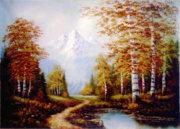 Tranh Đá Quý Núi rừng châu âu ĐT 03 – 9