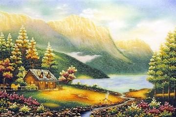 Tranh Đá Quý Thung lũng thần tiên ĐT 03 – 08