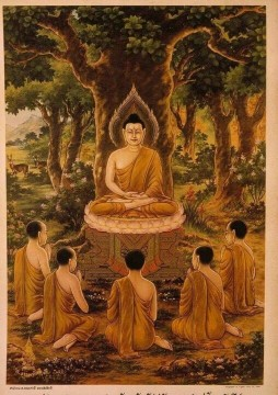 Tranh Đá Quý Chân Dung Đức Phật